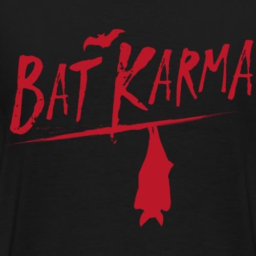 bat karma - Männer Premium T-Shirt