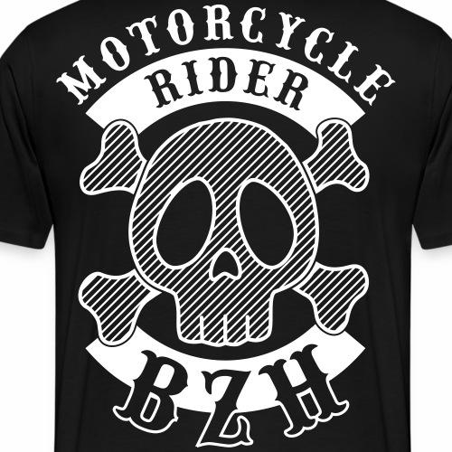 Motorcycle Rider Bretagne - T-shirt Premium Homme