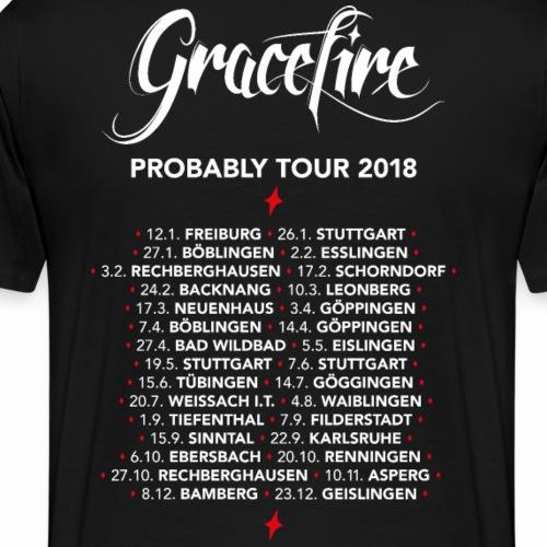 Gracefire Probably Tour 2018 - Männer Premium T-Shirt