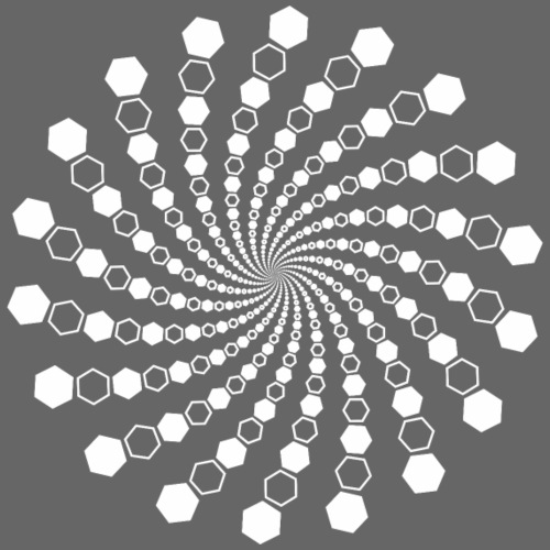 spirala - Koszulka męska Premium