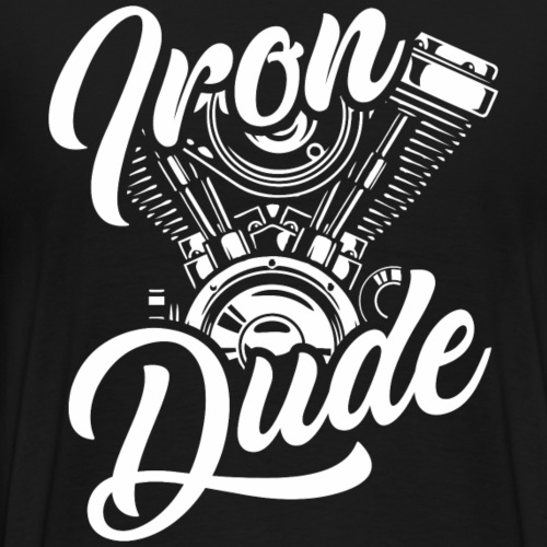 Iron Dude - Männer Premium T-Shirt