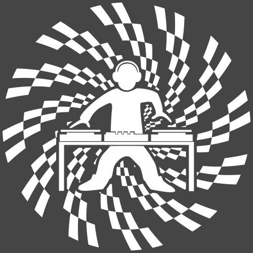 dj spirale giradischi - Maglietta Premium da uomo