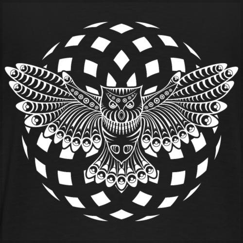 23 - 0099 - owl back - Men's Premium T-Shirt