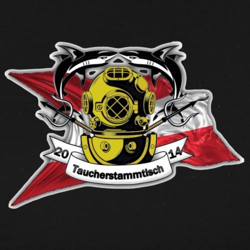 Taucherstammtisch Logo - Männer Premium T-Shirt