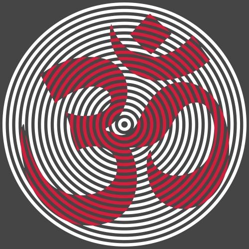 om circle all color - Maglietta Premium da uomo