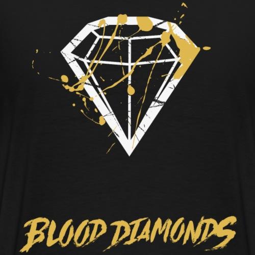 Blood Diamonds - Männer Premium T-Shirt