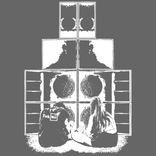 TEKNO 23 SOUNDSYSTEM LOVE - T-shirt Premium Homme