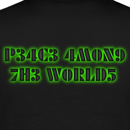 peace among the worlds - Männer Premium T-Shirt