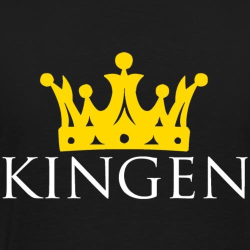 Kingen - Premium-T-shirt herr