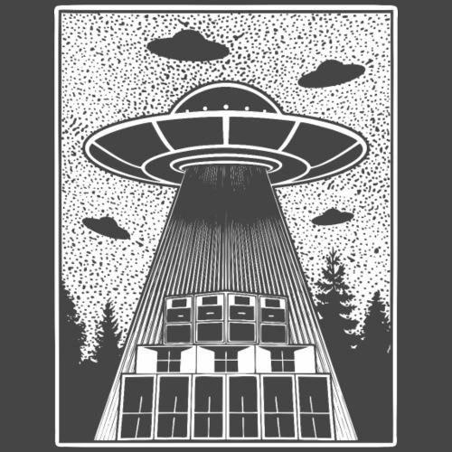 Tekno Alien 23 UFO - Maglietta Premium da uomo