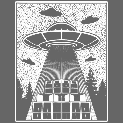Tekno Alien 23 OVNI - T-shirt Premium Homme