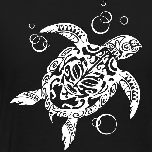 Watchful Turtle - Men's Premium T-Shirt