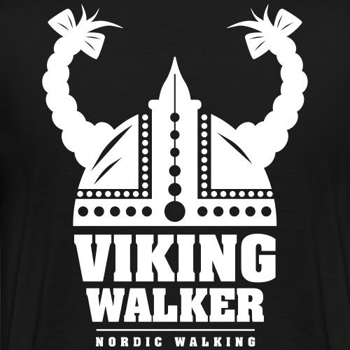 Nordic Walking - Lady Viking - Miesten premium t-paita