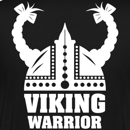 Viking Warrior - Lady Warrior - Miesten premium t-paita