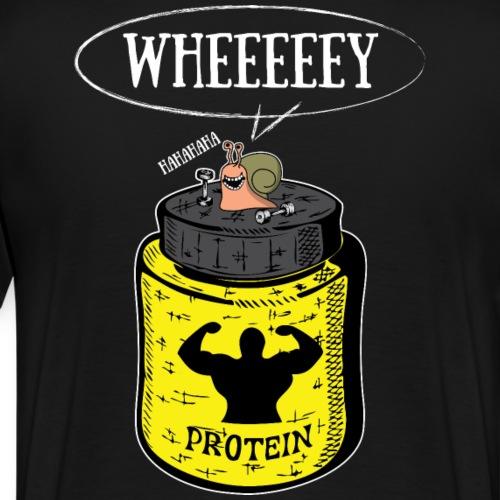 Escargot Wheeeeeeey - T-shirt Premium Homme