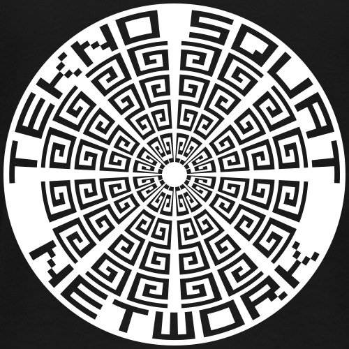 teknosquatnetwork2 - Men's Premium T-Shirt
