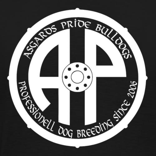 Logo 2019 Weiß - Männer Premium T-Shirt