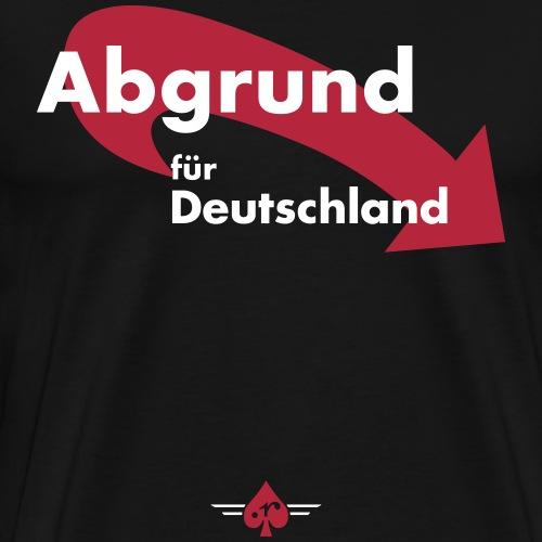 AbgrundFuerDeutschland - Männer Premium T-Shirt