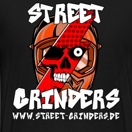 Street Grinders Merch Rot - Männer Premium T-Shirt