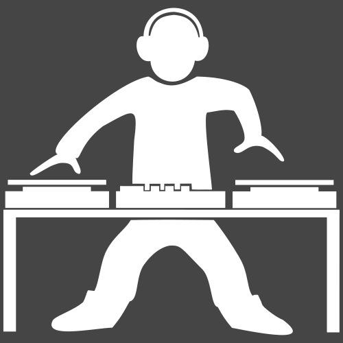 dj giradischi - Maglietta Premium da uomo