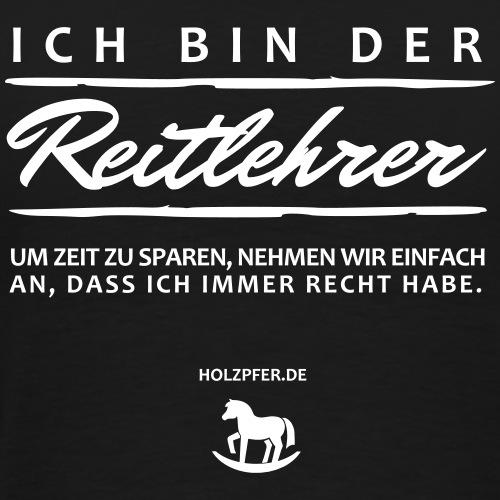 Reitlehrer - Männer Premium T-Shirt