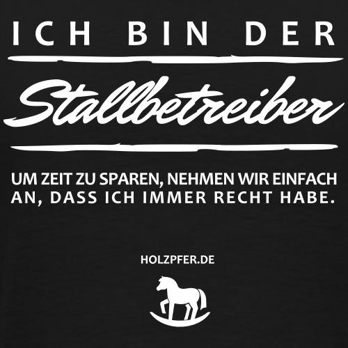 Stallbetreiber - Männer Premium T-Shirt