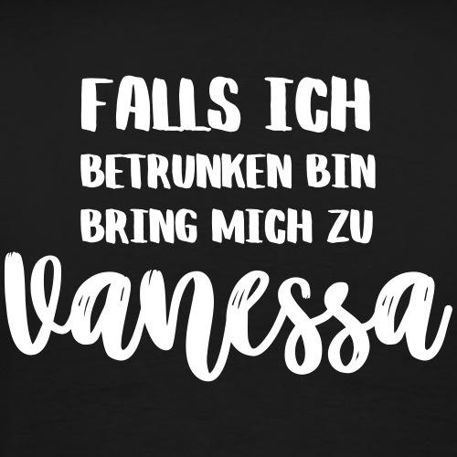 Party Partnerlook - Falls ich betrunken bin, ... - Männer Premium T-Shirt