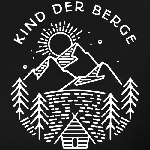 kind der berge 1 - Männer Premium T-Shirt