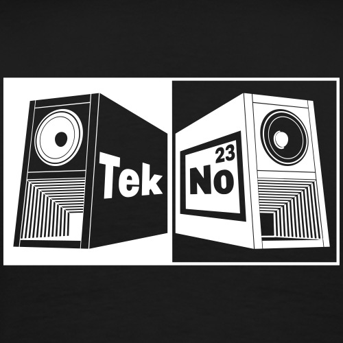 tekno 23 speaker - Men's Premium T-Shirt