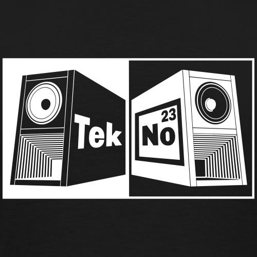 tekno 23 speaker - Men's Premium T-Shirt