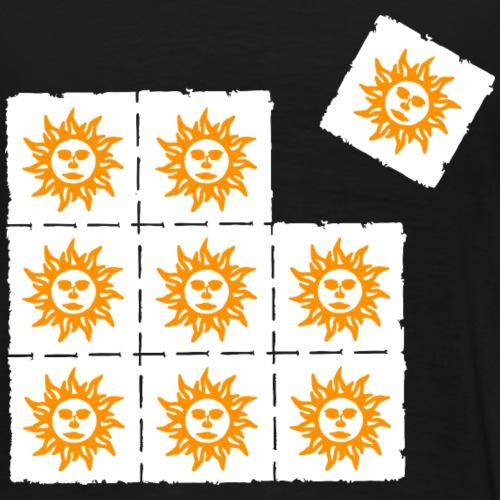 orange blotter - Men's Premium T-Shirt
