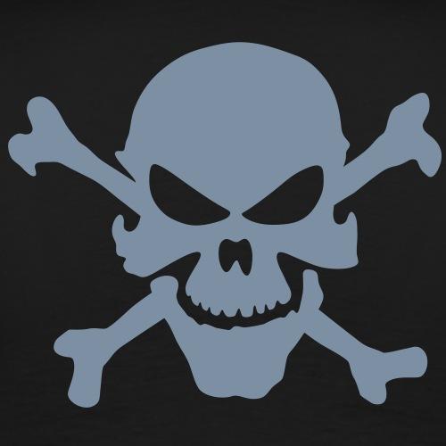 tete de mort devil - T-shirt Premium Homme