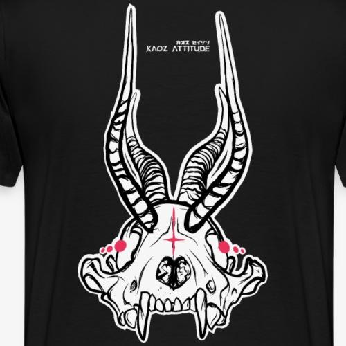 Fux Skull-ver2 - Männer Premium T-Shirt