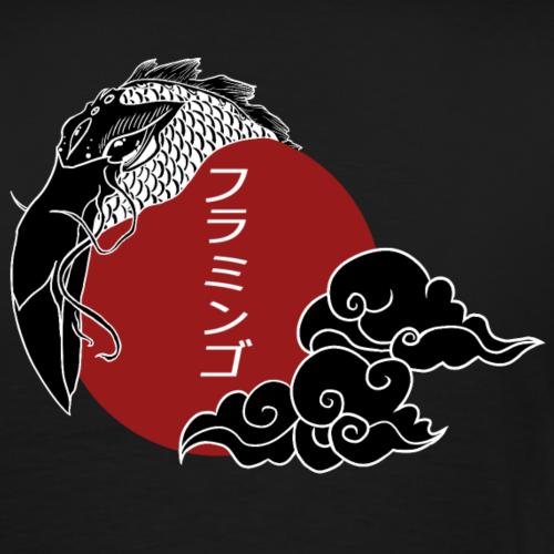 Japan Flamingo - T-shirt Premium Homme