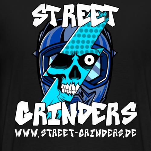 Street Grinders Merch Blau - Männer Premium T-Shirt