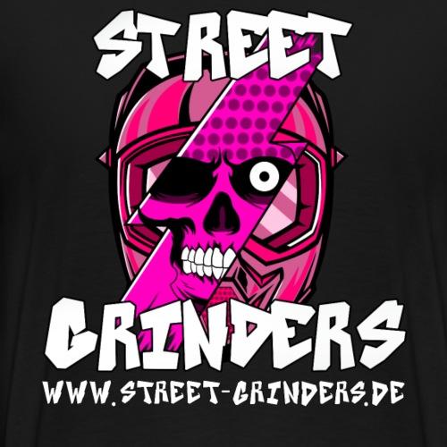 Street Grinders Merch Pink - Männer Premium T-Shirt