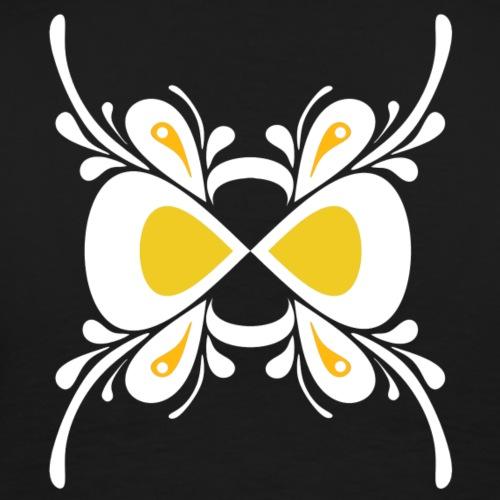 Butterfly White - Men's Premium T-Shirt