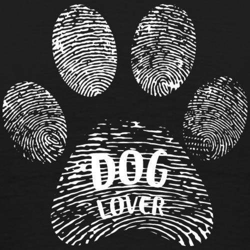 dog lover paw - Männer Premium T-Shirt