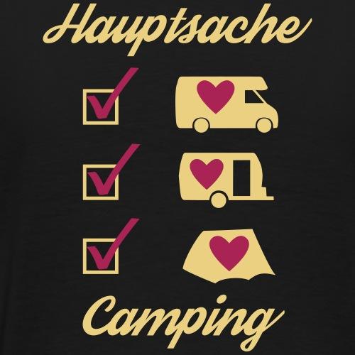 Hauptsache Camping - Männer Premium T-Shirt