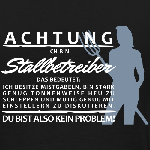 Stallbetreiber2 - Männer Premium T-Shirt