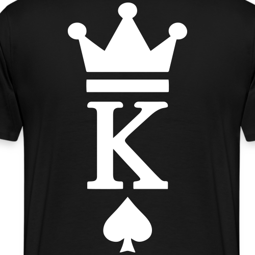 KING CROWN PIK - Männer Premium T-Shirt