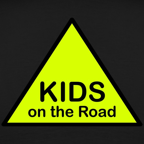 KIDS on the Road Attention Triangle