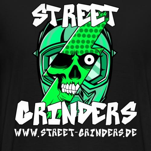 Street Grinders Merch Grün - Männer Premium T-Shirt