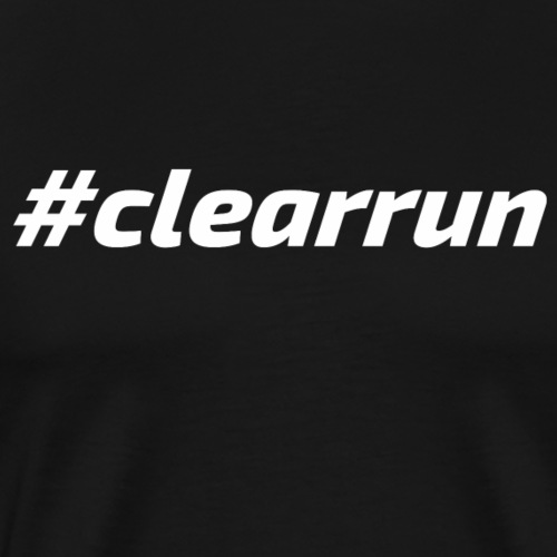 clearrun_front - Männer Premium T-Shirt