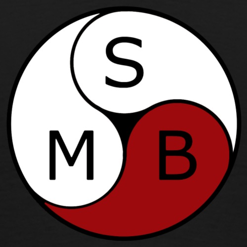 2019 SMB inv hvit - Premium T-skjorte for menn
