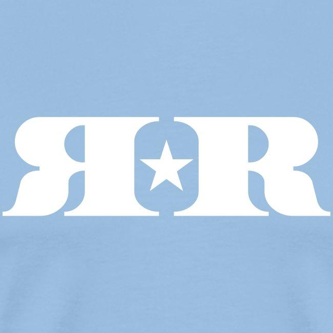 RR White Mirror Logo