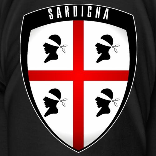 Sardegna Stemma - Maglietta Premium da uomo