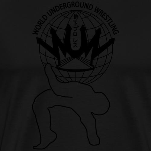 wuw suplex logo - Männer Premium T-Shirt