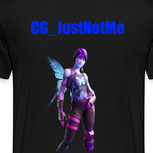 CG_JustNotMe - Mannen Premium T-shirt