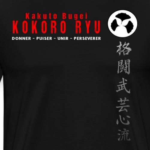 TEE SHIRT OFFICIEL KOKORO - T-shirt Premium Homme